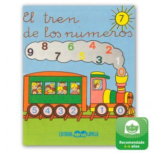 Cuadernillos didácticos Lamela El tren de los números nº 7