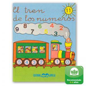 Cuadernillos didácticos Lamela El tren de los números nº 11